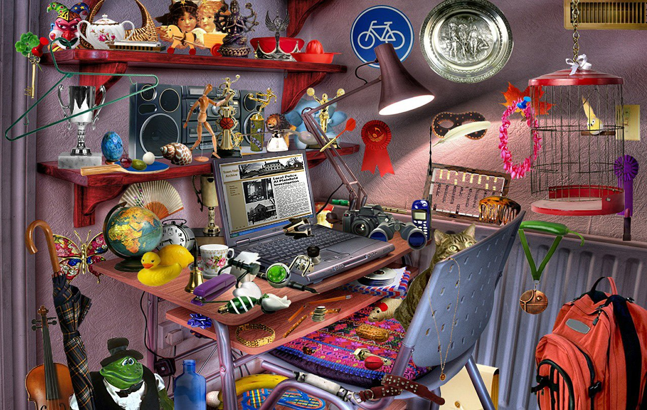 Desktop Toys For Grown Ups : The best hidden object games
